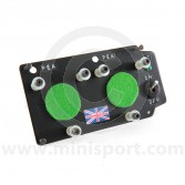 Stopwatch Holding Panel - Aluminium Large Dual LHD