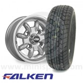 "4.5"" x 10"" Minilight Alloys - Falken FK07 Package"