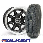 6 x 10'' Ultralite Black - Falken FK-07E Package