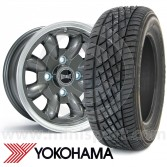 "WTP6X13KIT6 6"" x 13"" anthracite Ultralite alloy wheel and Yokohama A539 tyre package"