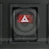 Dash Switch - MK4 - 1976-01 - Hazard - 6 rounded pin