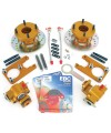 KAD1012070R KAD Mini rear brake disc and caliper conversion kit - red