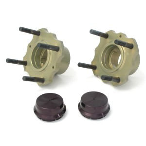 Mini Sport Alloy Lightweight Rear Hub Kit pair