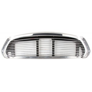 Mini Mk2 67-01 11 Bar Silver Grille Kit