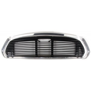Mini Mk2 67-01 11 Bar Black Grille Kit
