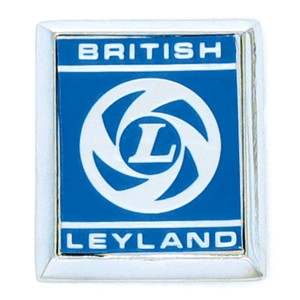 British Leyland A Panel Badge - Blue