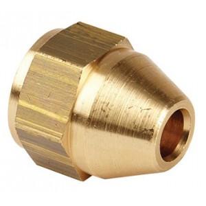 Brake Pipe Female Brass Fittings 3/8 x 24 UNF 3/16