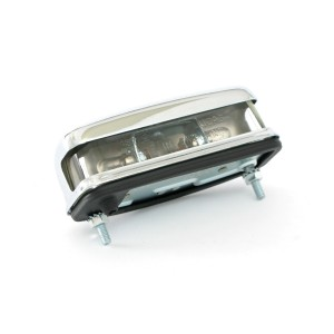 Number Plate Lamp - Mk1 Chrome