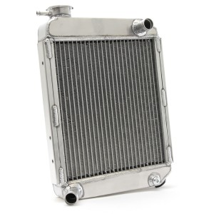 Radiator - 2 Core SuperCool - High flow - Alloy - Rear Overflow