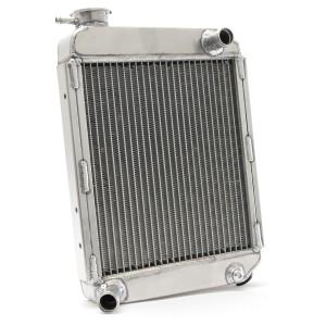 Radiator - 2 Core SuperCool - High flow - Alloy - Rear Overflow