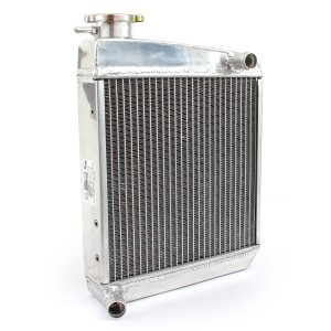 Radiator - 2 Core SuperCool - High flow - Alloy - Side Mounting