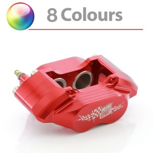 7.9'' Vented 4 Pot Alloy Calipers - Pair