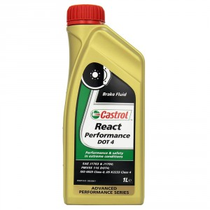 Castrol React Performance Brake Fluid Dot 4 - 1Ltr