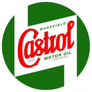 Castrol Bodywork Decal - Large