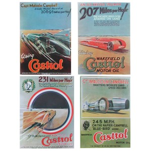 Castrol Posters - Set of 4