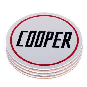 Cooper Coasters - Set of 4