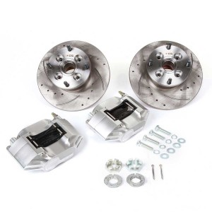 Cooper 8.4'' Brake Kit with Silver Alloy Calipers