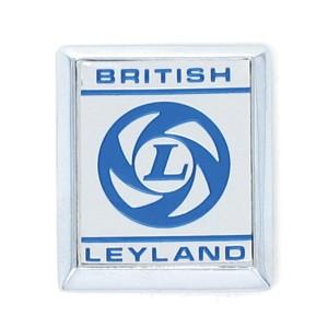 British Leyland A Panel Badge - Silver