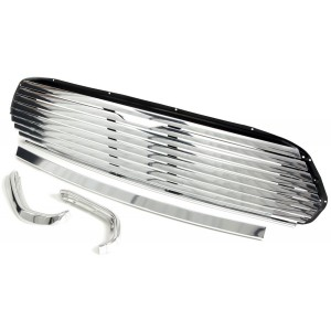 Mini Cooper 8 Bar Grille Kit - External Release (ALA6668)