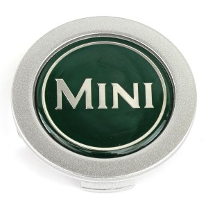 "Mini Centre Cap - Green - 13"" Wheels"