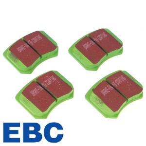 "Brake Pad Set - Mini 7.5"" Disc - Greenstuff"