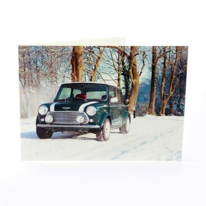 Greetings Card with a Green Sportspack Mini Image