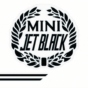 Cooper Look-a-Like Decal Kit - Jet Black - Black