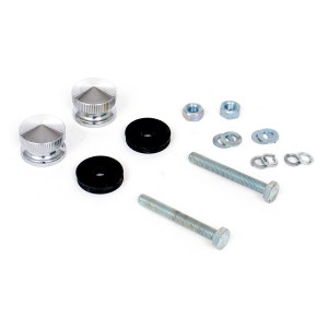 Mini Grille Button Kit - Silver