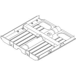 Floor Assembly Full Width Complete - Mini Mk1