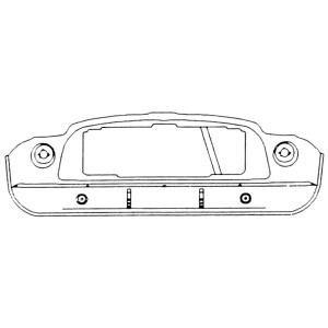 Front Panel Assembly - Mini Cooper S Mk1 '63-'64