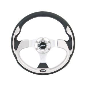 Mountney Sport Mini Steering Wheel - Silver Inset