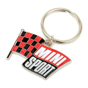 Mini Sport Flying Flag Key Ring