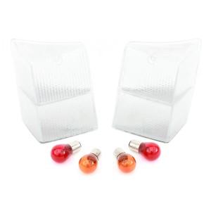 Mk4/5 Clear Rear Lens Kit inc Bulbs