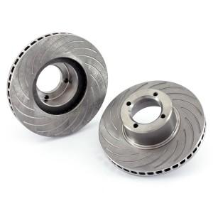 Brake Discs - 7.9 Grooved Vented, pair