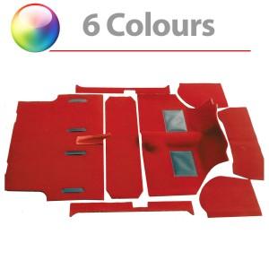 Moulded Carpet Set - Mini Saloon 73 on