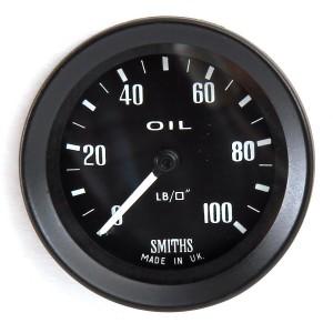 Mini Oil Pressure Gauge - Mechanical - Smiths