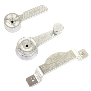 Paddy Hopkirk Aluminium Door Handle Set - 8 Piece