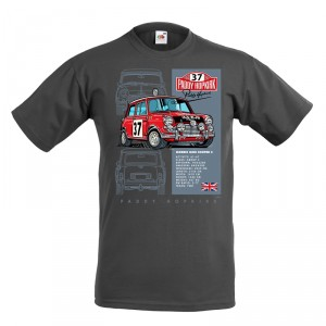 33 EJB Mini T Shirt - Grey