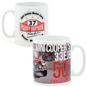 Set of 4 50th Anniversary Mugs