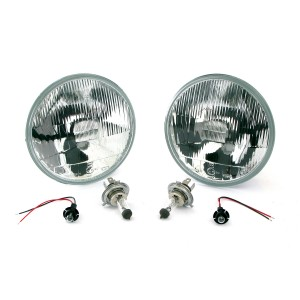 Quadoptic Mini Halogen Headlight Kit - RHD