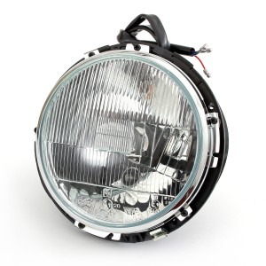 LHD Headlight Assembly Complete - Mini '59-'96