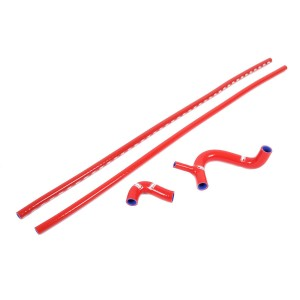 Samco Silicone Hose Kit - Cooper S - Red
