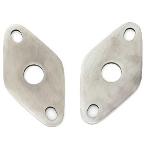Retaining Plates - Mini Top Arm - Stainless