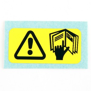 Mini Handbook Warning Label