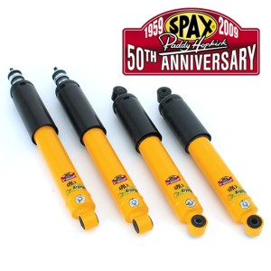 Spax 50th Anniversary Shock Absorbers - Paddy Hopkirk - set of 4