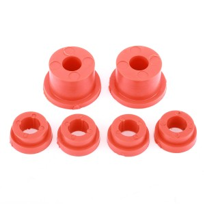 Poly Rear Subframe Bush Kit - Red 76-01