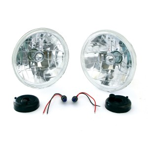 Mini Headlights Crystal style