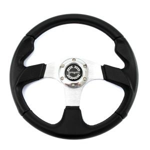 Sport Steering Wheel - 350mm Black