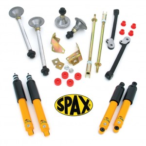 Performance Handling Kit with Spax Shock Absorbers - Lowered