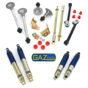Performance Handling Kit with GAZ Lowered Shock Absorbers